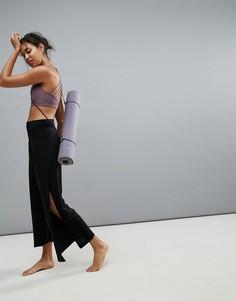 Черные брюки для занятий йогой Onzie Pure Vida - Черный
