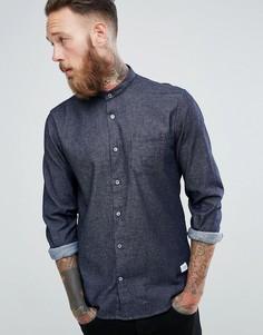 Джинсовая рубашка цвета индиго Lindbergh - Темно-синий