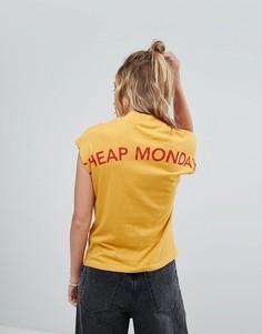 Топ с высоким воротом Cheap Monday - Желтый