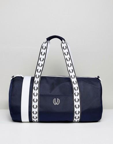 Темно-синяя сумка дафл Fred Perry - Темно-синий