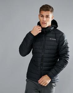 Черная дутая куртка с капюшоном Columbia Powder Lite - Черный