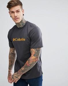 Темно-серая футболка с логотипом Columbia CSC - Серый