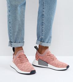 Розовые кроссовки adidas Originals NMD R2 - Розовый