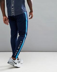 Темно-синие трикотажные джоггеры Jack Wills Sporting Goods Sudbury Interlock - Темно-синий
