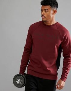 Красный свитер колор блок с круглым вырезом Jack Wills Sporting Goods Seagrave - Красный