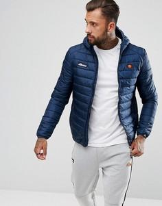 Темно-синяя дутая куртка с капюшоном Ellesse - Темно-синий