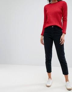 Джинсы в винтажном стиле Esprit - Черный