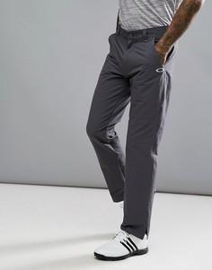 Темно-серые брюки классического кроя Oakley Golf Take - Серый