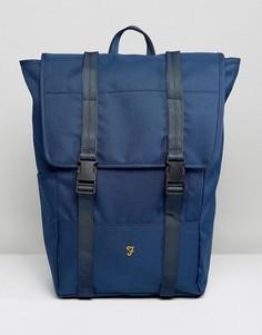 Темно-синий рюкзак с клапаном Farah Banks - Темно-синий