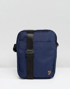 Темно-синяя сумка через плечо Farah Spencer - Темно-синий