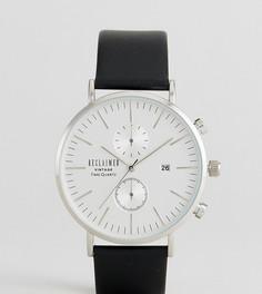 Часы с серым кожаным ремешком Reclaimed Vintage Inspired эксклюзивно для ASOS - Серый