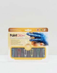 Набор гелей с блестками для лица и тела PaintGlow - Мульти Beauty Extras