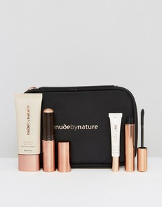 Подарочный набор для сияния кожи Nude By Nature 3 - Скидка 42 - Мульти