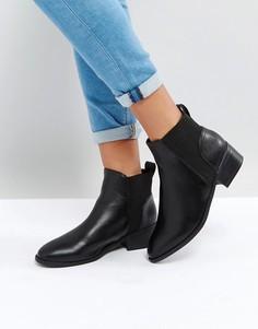 Ботинки челси со вставками в рубчик New Look - Черный