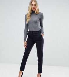 Строгие брюки в полоску Y.A.S Tall - Темно-синий