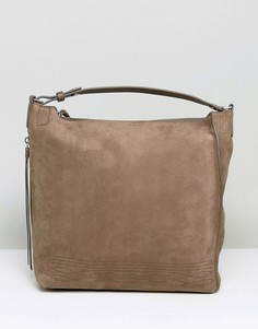 Маленький рюкзак AllSaints Cooper - Серый