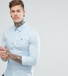 Голубая облегающая рубашка Jack Wills Hinton - Синий