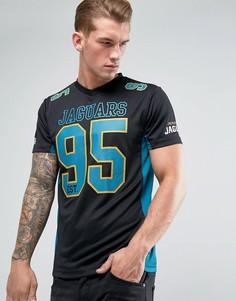 Сетчатая футболка Majestic NFL Jacksonville Jaguars - Черный