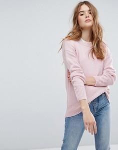 Длинный джемпер New Look - Розовый