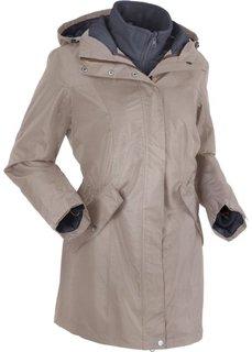 Функциональная куртка 3 в 1 (серо-коричневый/шиферно-серый) Bonprix