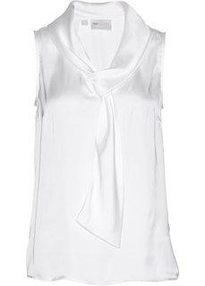 Блузка без рукавов (кремовый) Bonprix