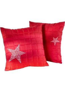 Накидка на диван Звезды (красный) Bonprix