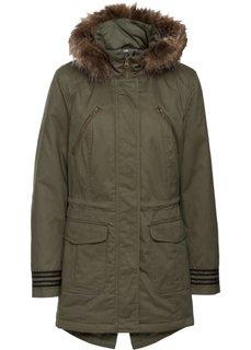 Куртка-парка (темно-оливковый) Bonprix