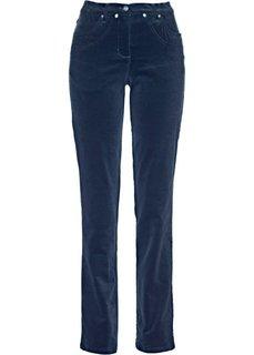 Вельветовые брюки-стретч (темно-синий) Bonprix