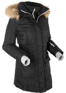 Стеганая куртка 2 в 1 (черный) Bonprix