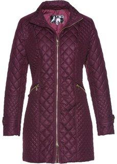 Стеганая куртка (бузинично-ягодный) Bonprix