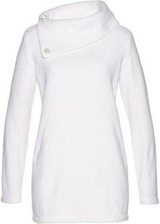 Пушистый пуловер (кремовый) Bonprix