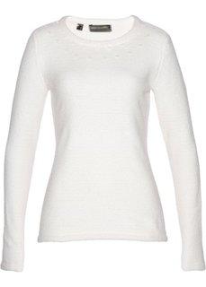 Пуловер (кремовый) Bonprix