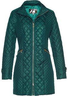 Стеганая куртка (зеленый) Bonprix