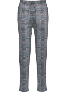 Клетчатые брюки (серый в клетку) Bonprix
