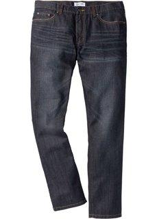 Джинсы Regular Fit Tapered, cредний рост (N) (темно-синий) Bonprix