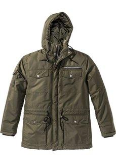 Зимняя куртка Regular Fit (темно-оливковый) Bonprix