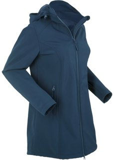 Куртка-парка софтшелл (темно-синий) Bonprix