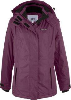 Функциональная куртка (бузинично-ягодный) Bonprix