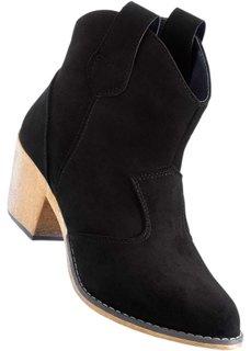 Ковбойские ботинки (черный) Bonprix