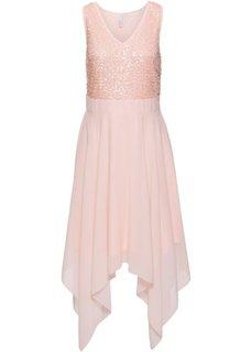 Вечернее платье с пайетками (нежно-розовый) Bonprix