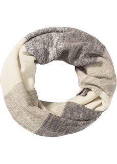 Полосатый шарф-снуд (светло-оливковый/бежевый/серый/светло-желтый) Bonprix