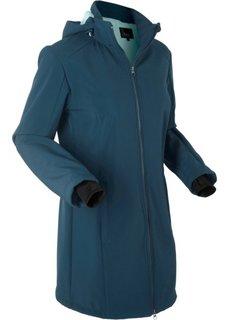 Функциональная куртка-софтшелл с плюшевой подкладкой (темно-синий) Bonprix