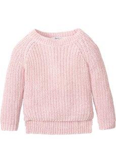 Пуловер с блестящим отливом (нежно-розовый с блеском) Bonprix