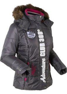 Функциональная стеганая куртка (шиферно-серый) Bonprix