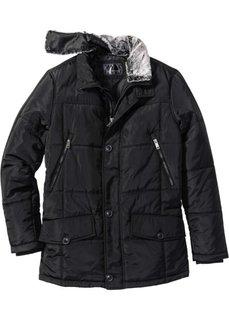 Длинная зимняя куртка (черный) Bonprix