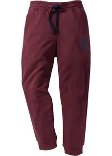 Трикотажные брюки (темно-бордовый) Bonprix