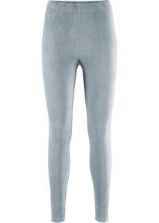Легинсы в дизайне под вельвет (серебристо-серый) Bonprix
