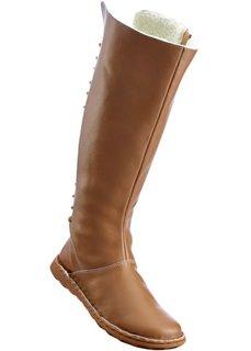 Удобные кожаные сапоги (верблюжий) Bonprix