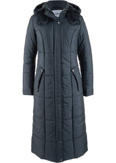 Легкая стеганая куртка длинного покроя (ночная синь) Bonprix
