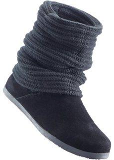 Сапоги (черный) Bonprix